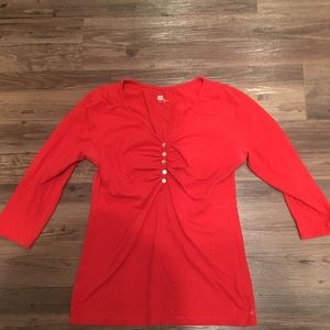 Womens quarter length blouse